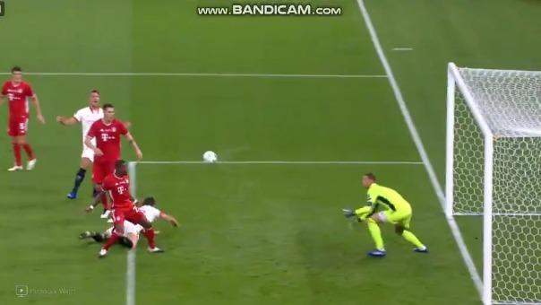 Gol de Lucas Ocampos en la Supercopa de Europa