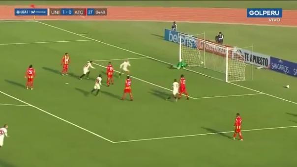 Gol de Alejandro Hohberg