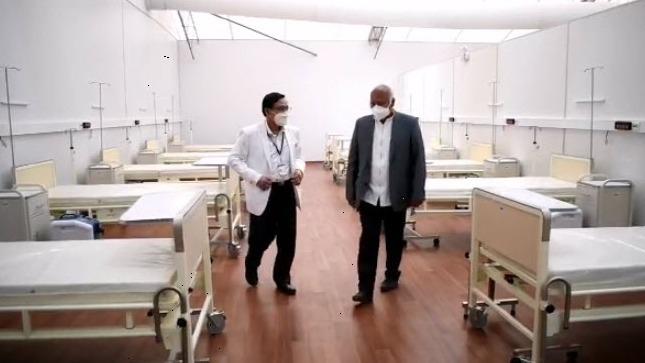 Hospital cuenta con 25 camas UCI, ventiladores mecánicos y otros equipos, pero no pueden ser utilizados por falta de personal médico.