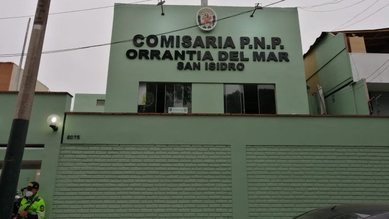 El crimen ocurrió dentro de la Comisaría PNP Orrantia.