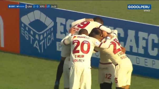Así fue el gol de Alejandro Hohberg con Universitario.
