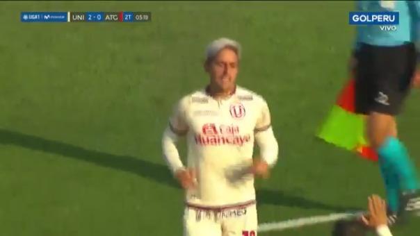 Gol de Alejandro Hohberg ante Atlético Grau