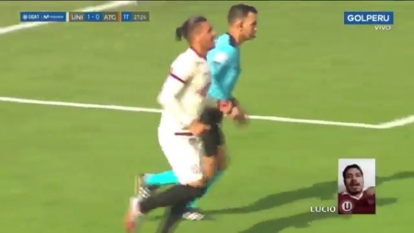 Gol de Jonathan Dos Santos ante Atlético Grau