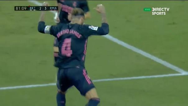 Real Betis 3-2 Real Madrid por LaLiga