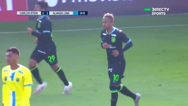 Alianza Lima 2-0 CArlos Stein: así fue el gol de Joa Arroé