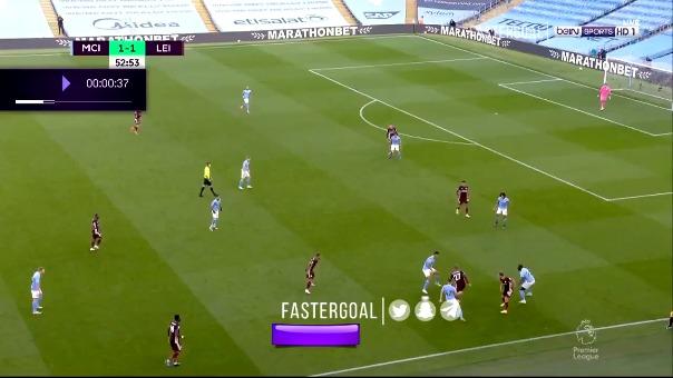 Leicester City goleó al City.