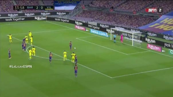 Lionel Messi anotó un gol de penal