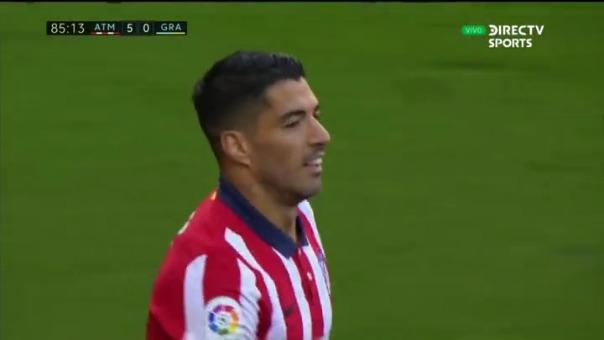 Así fue el primer gol de Luis Suárez en su debut con la camiseta del Atlético de Madrid