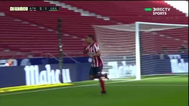Atlético de Madrid 6-1 gracias a Suárez.