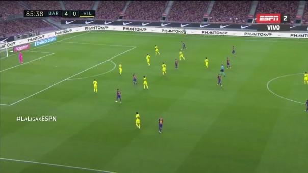 Barcelona estuvo cerca del 5-0.