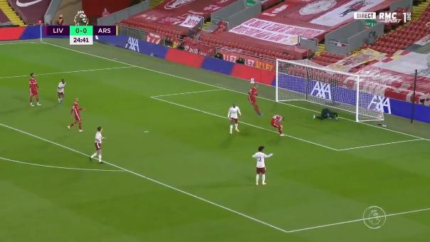 Gol del Arsenal.