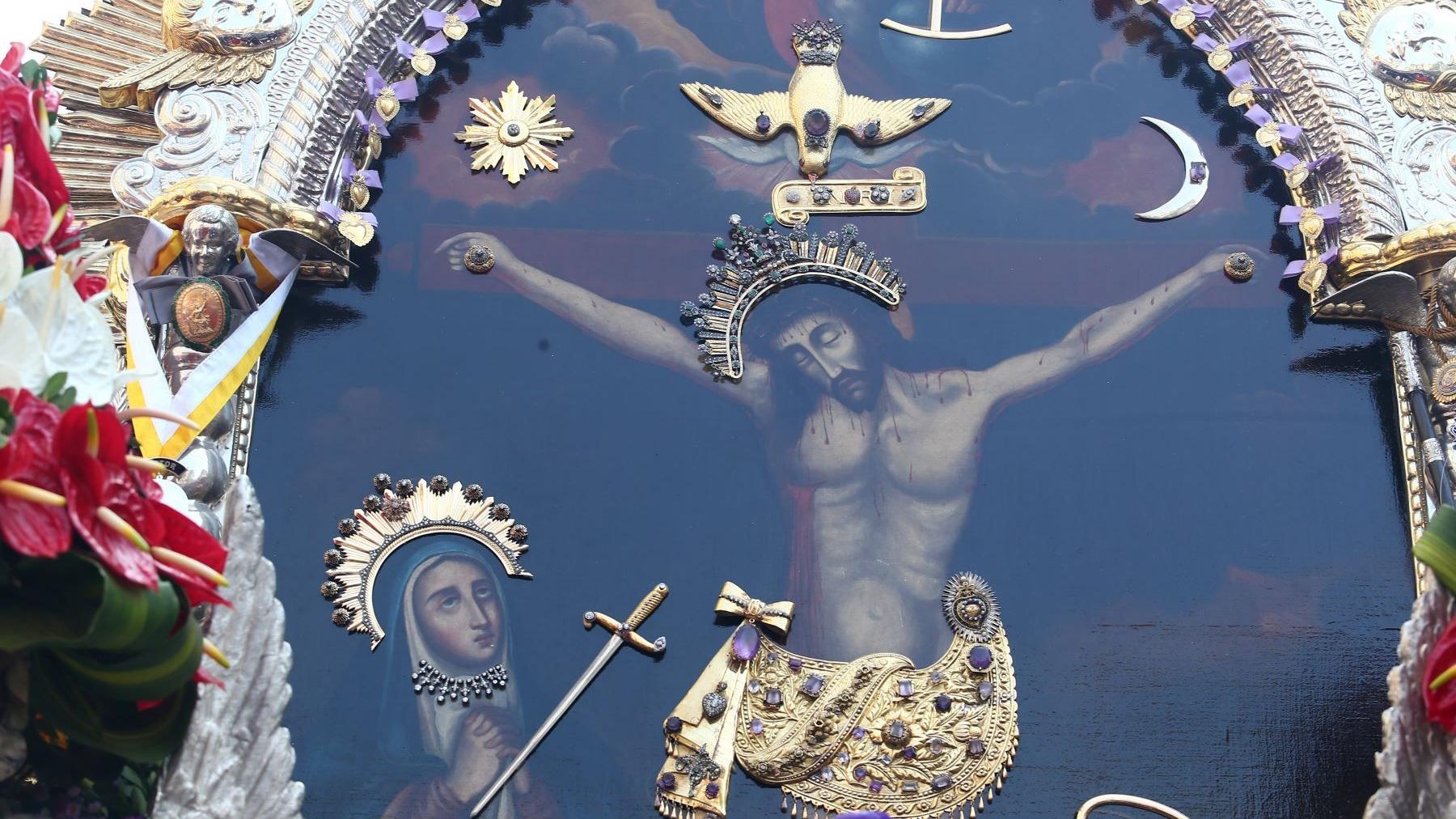 Este año no se realizarán las tradicionales procesiones del Señor de los Milagros.
