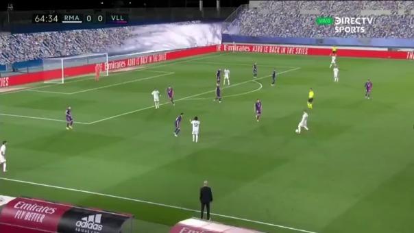 Gol de Vinicius Junior ante Valladolid.