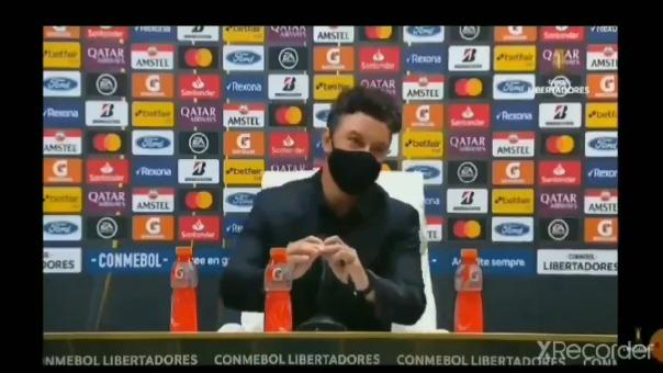 Estas fueron las palabras de Marcelo Gallardo en la conferencia de prensa.