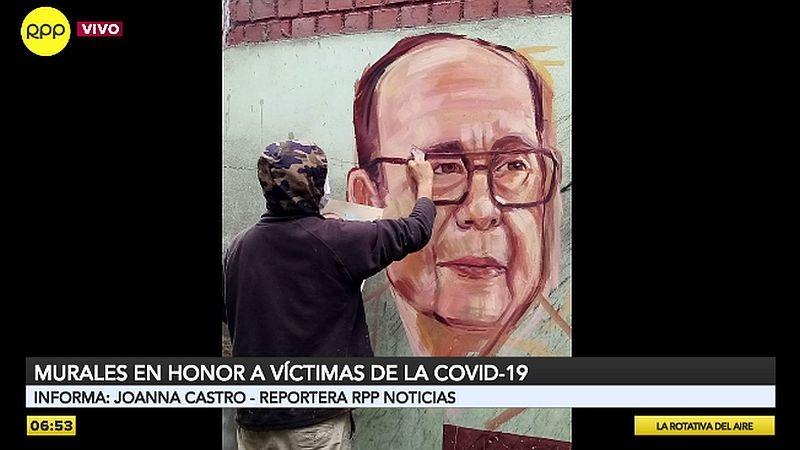 Los murales se encuentran en el sector Leticia del cerro San Cristóbal.