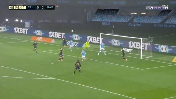 Gol de Sergi Roberto ante Celta de Vigo