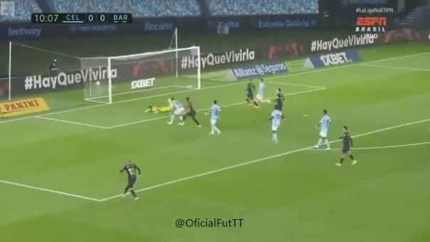 Gol de Ansu Fati al Celta de Vigo
