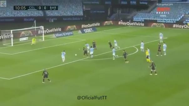 Gol de Ansu Fati a Celta de Vigo