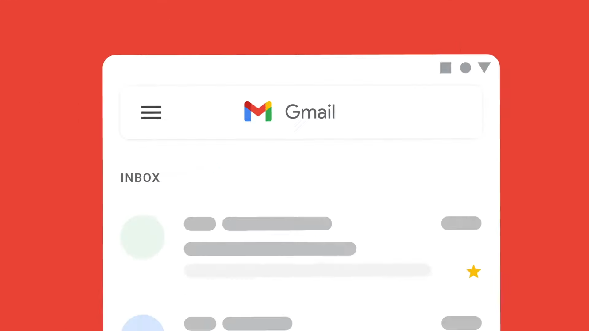 Gmail se pondrá al tono de otras apps de Google.