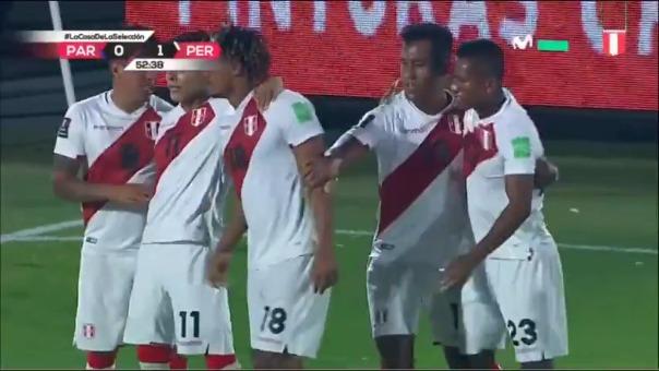 Primer gol de André Carrillo