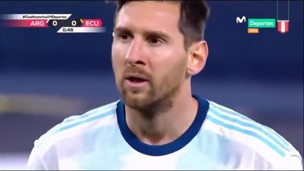 Lionel Messi marcó de penal en la victoria de Argentina vs. Ecuador