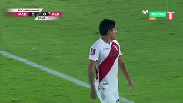 La ocasión de Raúl Ruidíaz.