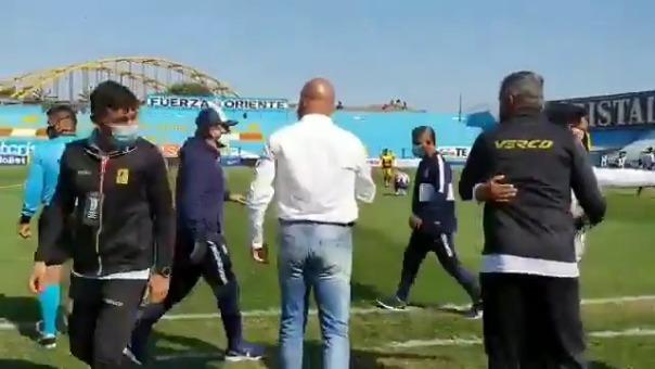 Mario Salas le hizo un desaire a Hernán Lisi