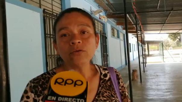 Una de las madres de familia señaló que sí permite que su hija asista a las clases, porque se trata solo de unas horas.