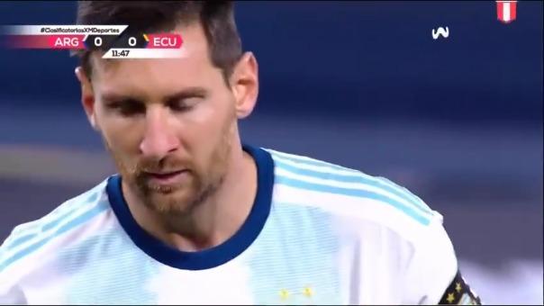 Messi anotó de penal en el inicio de las Eliminatorias