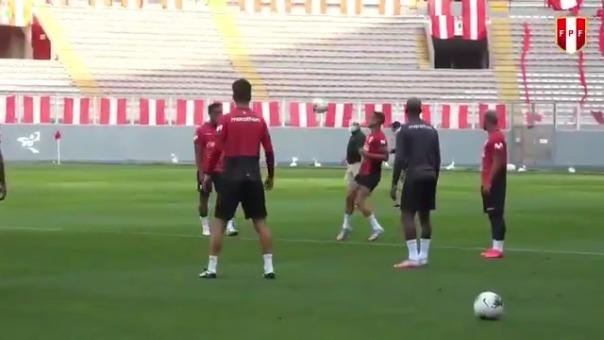 Así fue el penúltimo entrenamiento de la Selección Peruana