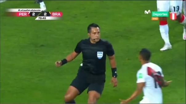 Julio Bascuñán fue el árbitro del Perú vs. Brasil en Lima
