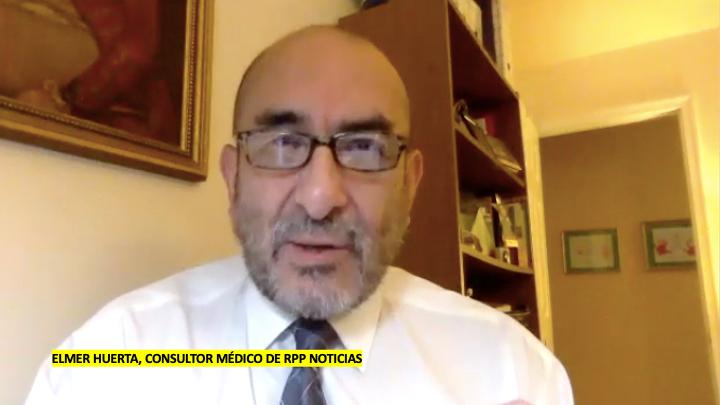 El consultor médico y experto en salud pública, Elmer Huerta, aseguró que al momento, un posible incremento de casos significaría un rebrote mas no una segunda ola.