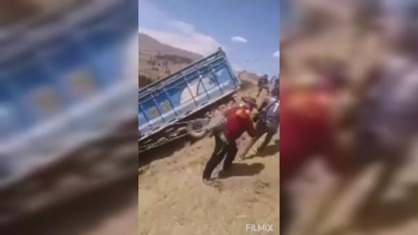 Las personas que viven en esta zona de Huancavelica son conocidas por realizar acciones como esta.