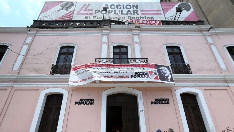 Acción Popular podría oficializar mañana mismo sus precandidatos presidenciales.