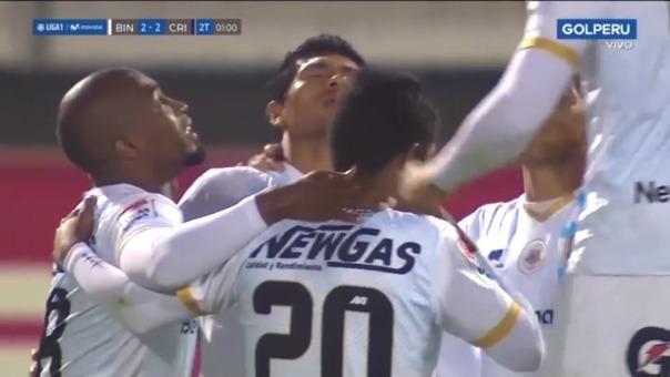 Héctor Zeta marcó el 2-2 de Binacional ante Sporting Cristal
