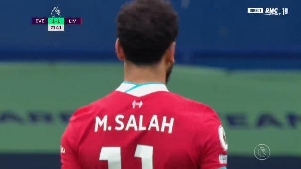 Gol de Mohamed Salah ante Everton