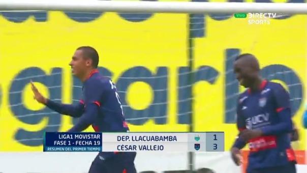 César Vallejo vs. Llacuabamba por la fecha 19