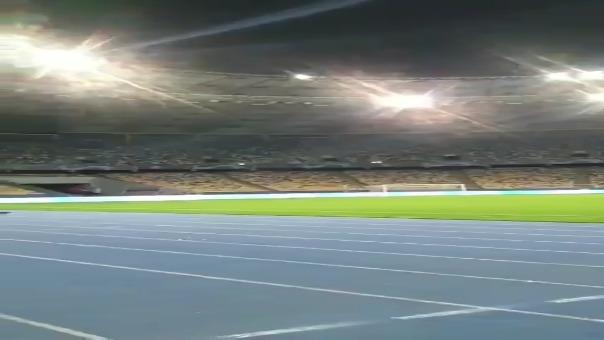 Así luce el estadio de Kiev previo al partido por Champions League