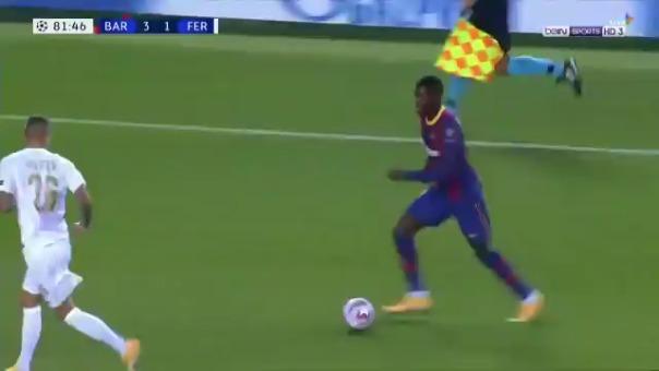 Gol de Pedri ante Ferencvaros