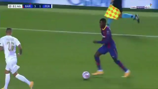Gol de Pedri ante Ferencváros