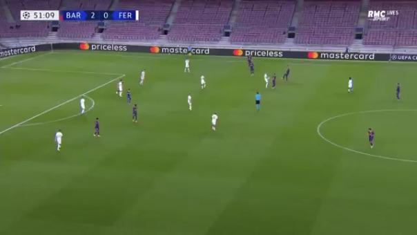 Gol de Philippe Coutinho ante Ferencváros