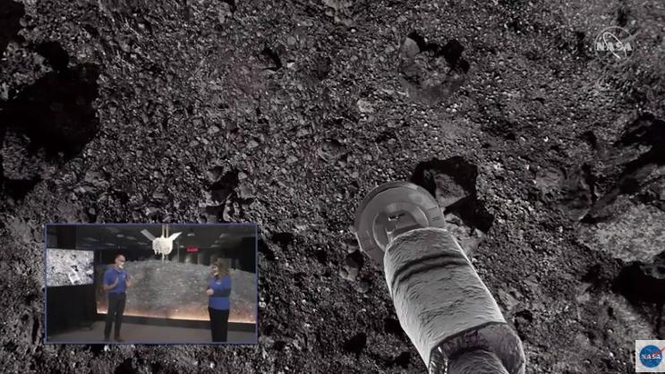 La NASA mostró la alegría en vivo del comando detrás de la nave y una recreación del suceso. Las imágenes oficiales serán publicadas posteriormente.