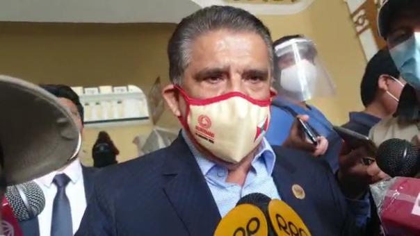 El gobernador regional de La Libertad, Manuel Llempén, señaló que el problema de contagios no está en Huancaspata, sino en Pataz.