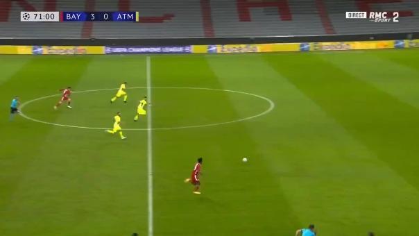 Bayern Munich y el gol de Coman.