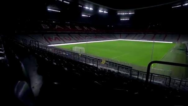 Atlético de Madrid reconoció el Allianz Arena previo a su duelo contra Bayern Munich