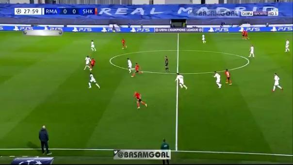 Gol de Teté ante el Real Madrid