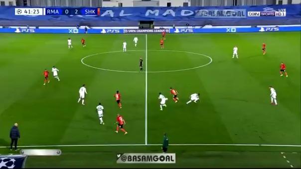 Gol de Solomon ante el Real Madrid