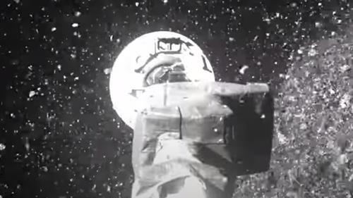 Estas imágenes fueron captadas por la cámara incluida en la nave.