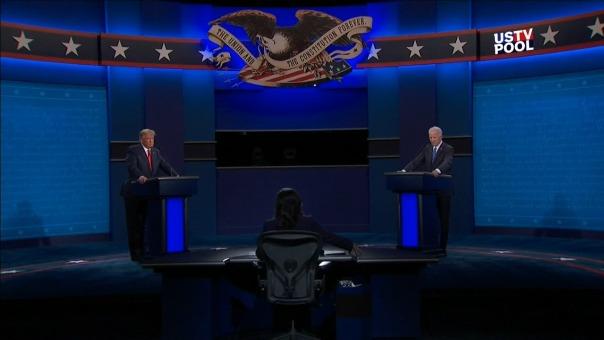 Así se vivió el segundo y último debate presidencial en Estados Unidos.