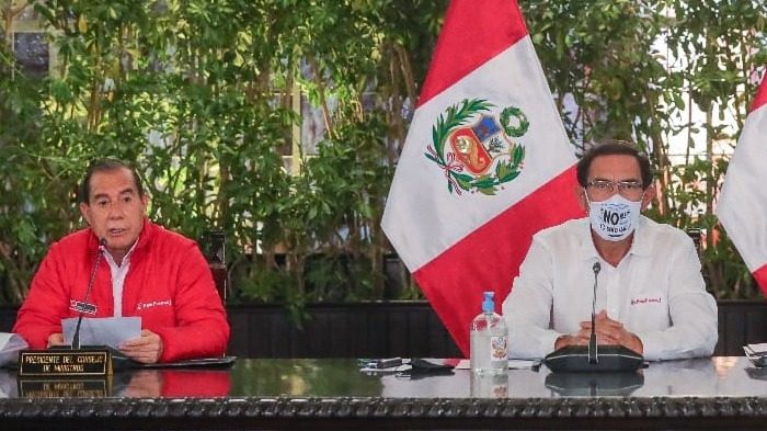 Walter Martos cuestionó el nuevo pedido de vacancia presidencial.